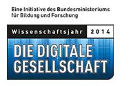 Logo Wissenschaftsjahr 2014 - Die digitale Gesellschaft